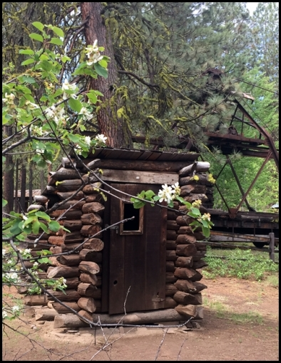 Logging outhouse